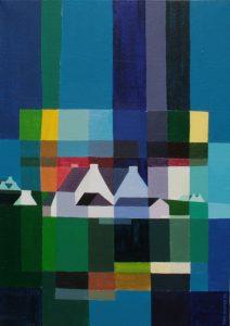 Tom Kuper acrylschilderij Bretagne 2 afmeting 60x80cm. (2010)