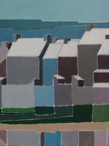 Tom Kuper acrylschilderij Bretagne 1 afmeting 60x80cm. (2004)