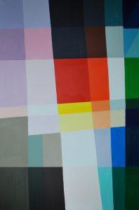 Tom Kuper acrylschilderij Elias 80x120cm. (2011)